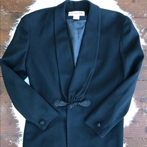 [Christian Dior] Black Blazer - Size 4